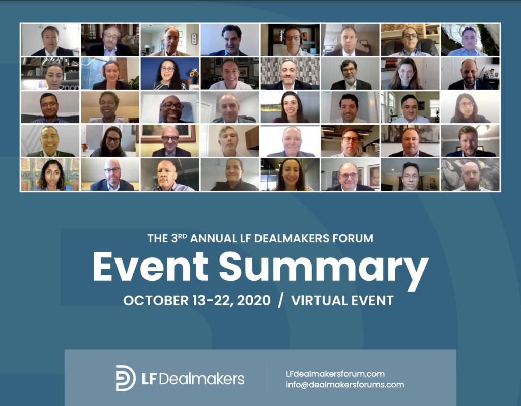 2020 LF Dealmakers Forum - Event Report